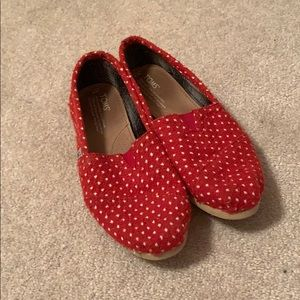 Red Polka Dotted Toms